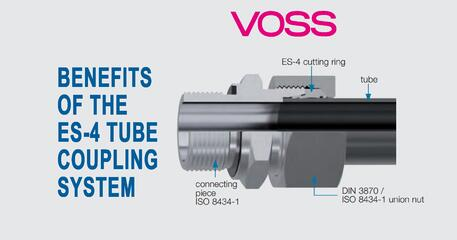 The benefits of the VOSS ES-4 Tube Coupling System