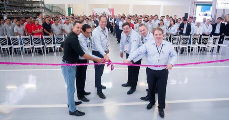 VOSS Automotive Brazil held a special inauguration ceremony for its new production plant in Sao Paulo.